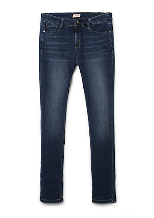 Regular: soft stretch denim with a 7/8-length leg from s.Oliver