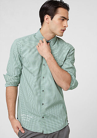 Regular: srajca v vzorcu vichy karo