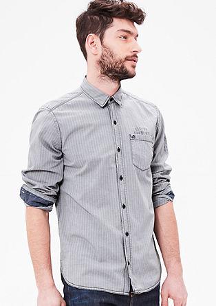 Regular: srajca z vzorcem ribje kosti