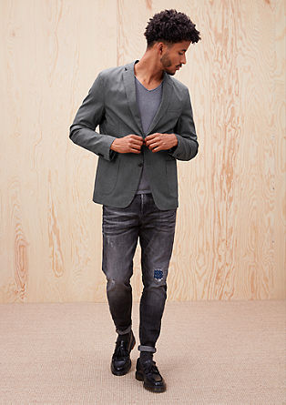 Regular: stretch twill jacket from s.Oliver
