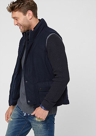 Reversible body warmer from s.Oliver