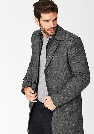 Reversmantel aus Tweed
