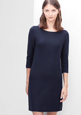 Rib knit dress from s.Oliver