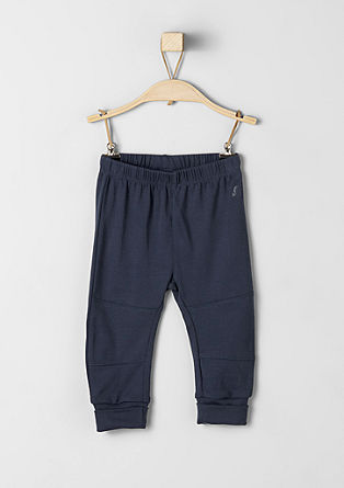 Ribbed tracksuit bottoms from s.Oliver