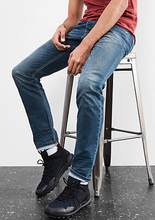 Rick Slim: blue jeans met stretch