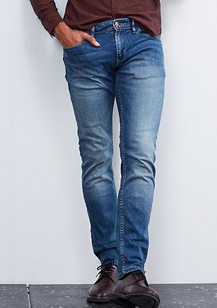 Rick slim: blue jeans met stretch