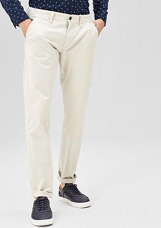 Rick slim: chino van katoen met stretch