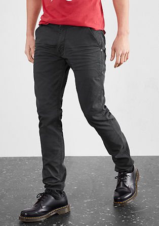 Rick Slim: chinos with a textured pattern from s.Oliver