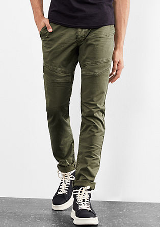 Rick Slim: Coloured cargo chinos from s.Oliver