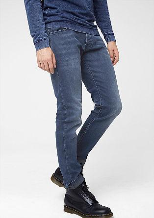 Rick Slim: Elastische Used-Jeans