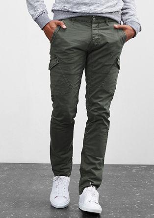 Rick Slim: Garment Dye-Cargohose