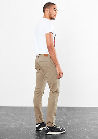 Rick slim: garment-dyed chino