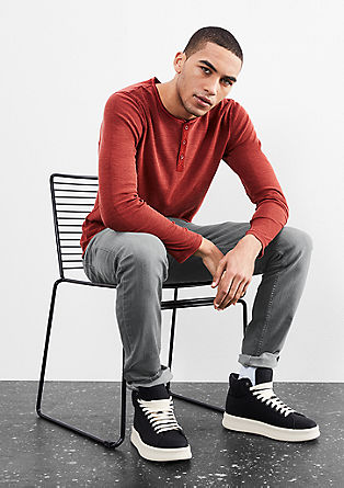 Rick Slim: grey stretch jeans from s.Oliver