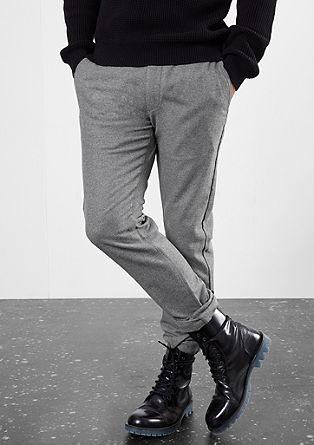 Rick Slim: hlače Chino iz volnene mešanice