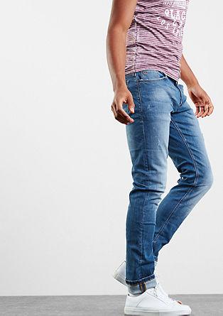 Rick Slim: Jeans mit Destroyes