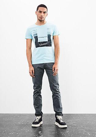 Rick Slim: jeans s temnejšimi šivi