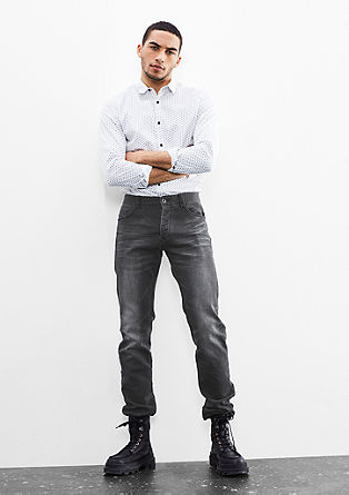 Rick slim: Jogger style denim pants