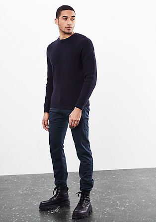 Rick Slim: Lightweight chinos from s.Oliver
