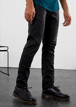 Rick Slim: pobarvane jeans