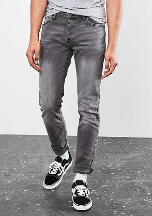 Rick Slim: raztegljive jeans hlače z gumbi