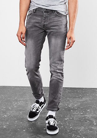 Rick Slim: Stretch jeans with button fly from s.Oliver