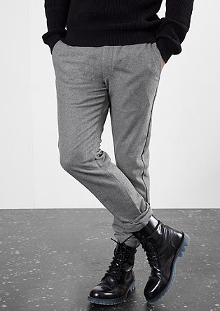 Rick Slim: wool blend chinos from s.Oliver