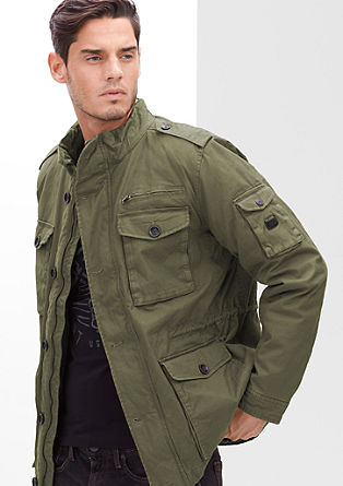 Robust field jacket from s.Oliver