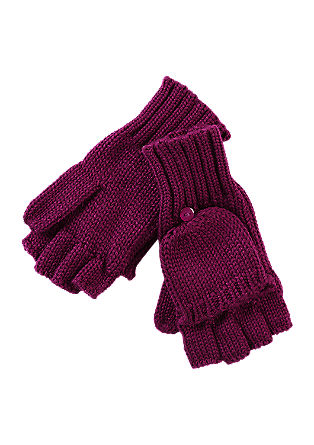 Rokavice brez prstov s poklopcem