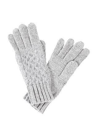 rokavice s prsti, iz strukturne mešanice
