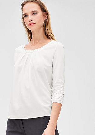 Ruched blouse top from s.Oliver