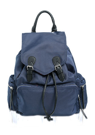 Rucksack in Nylon-Optik