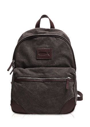 Rucksack with imitation leather details from s.Oliver
