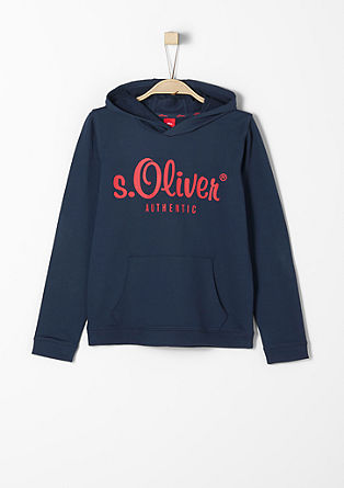 s.Oliver AUTHENTIC – športen pulover s kapuco