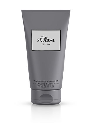 s.Oliver For Him douchegel/shampoo, 150 ml