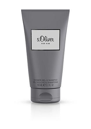 s.Oliver For Him douchegel/shampoo, 150 ml