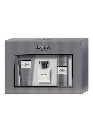 s.Oliver For Him Trio Geschenk-Set