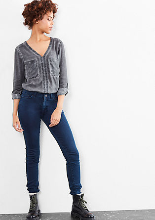 Sadi Superskinny: Highwaist-Jeans