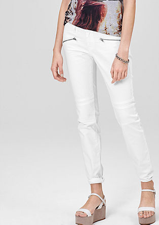 Sadie Super Skinny: bele jeans hlače