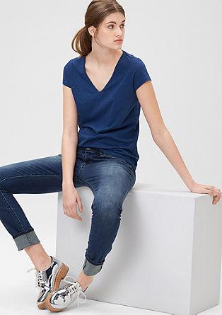 Sadie super skinny: jeans met een used look