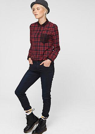 Sadie Super Skinny: Power-Stretch-Jeans