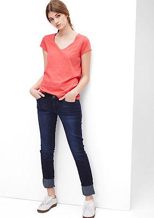 Sadie Super Skinny: Used-Jeans