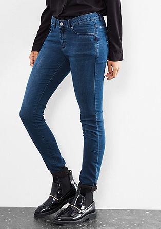 Sadie Superskinny: Barvne jeans hlače