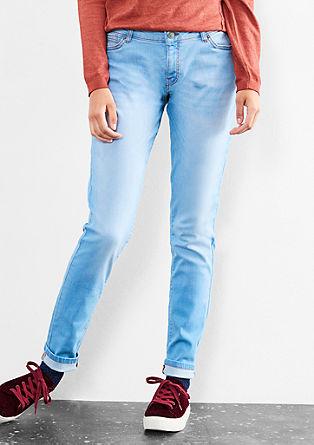 Sadie Superskinny: svetle jeans hlače