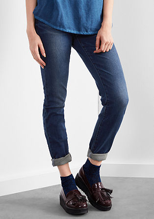 Sadie Superslim: Used-Jeans