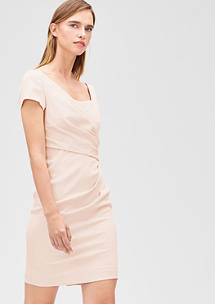 Satin cocktail dress from s.Oliver