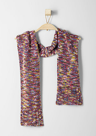 Scarf in marled yarn from s.Oliver