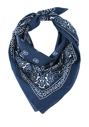 Scarf with a paisley pattern from s.Oliver