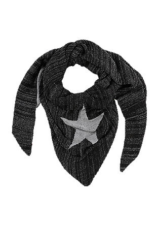 Scarf with glitter effect from s.Oliver