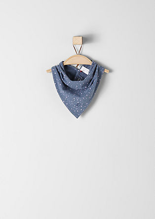 Scarf with polka dots from s.Oliver