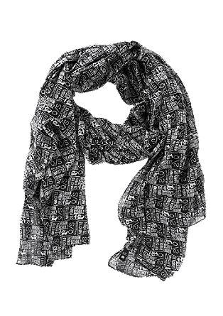Schal im Logomania-Design
